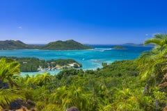 Förtjust Ferdinand naturlig reserv, Seychellerna arkivbild