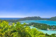 Förtjust Ferdinand naturlig reserv, Seychellerna royaltyfri fotografi
