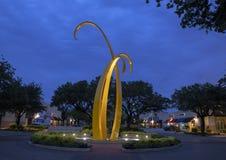 `-Förtroende` vid Michell nolla-` Michael i Preston Plaza, Dallas, Texas royaltyfria foton