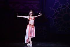 """Förtrollande för balett""""One tusen och en för drottning Nights† Royaltyfri Foto"""