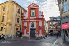 Förutom kyrkan av St John The Baptist fotografering för bildbyråer