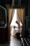 förväntanbrudbröllop Arkivbild