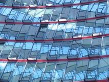förväxlande facadehus arkivfoto