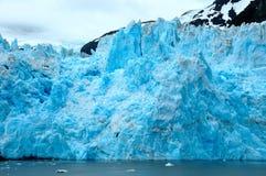 Förvåna glaciären Arkivfoto