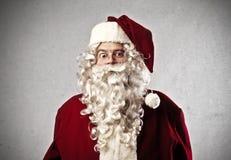 Förvånada Santa Claus Royaltyfria Bilder
