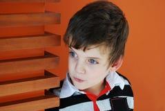 förvånat barn Fotografering för Bildbyråer