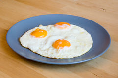 förvanskade ägg Royaltyfria Bilder