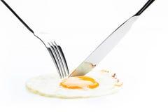 Förvanskat ägg Fotografering för Bildbyråer