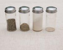 förvirrat Använda kryddakrus Arkivbild