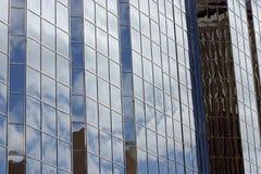 förvriden reflexion Arkivbild