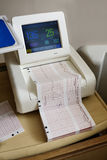 Fötaler Kontraktions-Monitor Lizenzfreie Stockfotografie