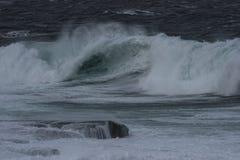 Fúria do oceano Foto de Stock