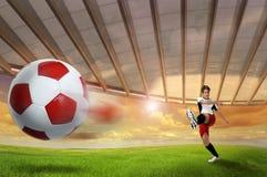 Fútbol Fotos de archivo libres de regalías