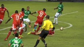 Fútbol almacen de metraje de vídeo