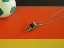 Fútbol alemán Imágenes de archivo libres de regalías