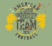 Fútbol americano Fotos de archivo libres de regalías