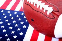 Fútbol americano Foto de archivo libre de regalías