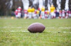 Fútbol americano - bola foto de archivo