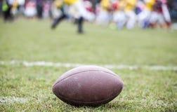 Fútbol americano - bola foto de archivo libre de regalías
