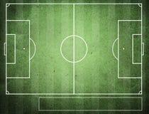 Fútbol clasifiado con la textura de papel. Fotografía de archivo libre de regalías