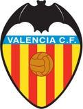 Fútbol de espana del logotipo del Valencia CF Imagenes de archivo