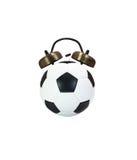 Fútbol de la alarma Imagenes de archivo