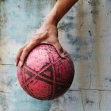 Fútbol de la calle. fotografía de archivo