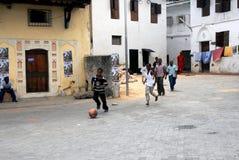 Fútbol de la calle imágenes de archivo libres de regalías