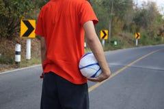 Fútbol de la calle Fotografía de archivo libre de regalías