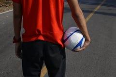 Fútbol de la calle Foto de archivo