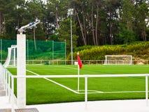 Fútbol de la esquina Fotografía de archivo libre de regalías