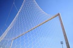 Fútbol de la meta Fotos de archivo