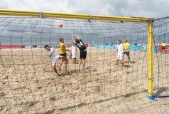 Fútbol de la playa Fotografía de archivo