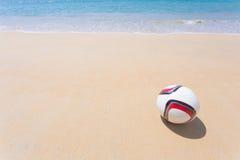 Fútbol de la playa Imagen de archivo libre de regalías