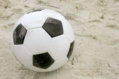 Fútbol de la playa Foto de archivo libre de regalías