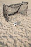 Fútbol de la playa de Tailandia Foto de archivo libre de regalías