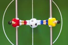fútbol de la tabla Imágenes de archivo libres de regalías