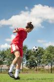 Fútbol de las mujeres Fotos de archivo libres de regalías