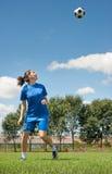 Fútbol de las mujeres Fotografía de archivo