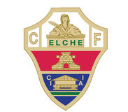 Fútbol de Logo Spain del Elche CF Fotografía de archivo libre de regalías