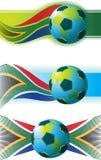 Fútbol de Suráfrica Foto de archivo libre de regalías