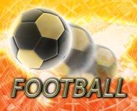 Fútbol del balompié de la taza de mundo Imágenes de archivo libres de regalías