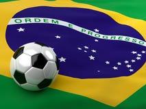 Fútbol 2014 del Brasil Fotos de archivo libres de regalías