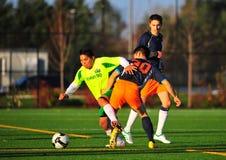 Fútbol del club del Mens imágenes de archivo libres de regalías