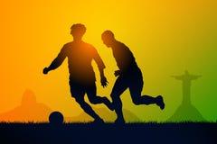 Fútbol del juego libre illustration