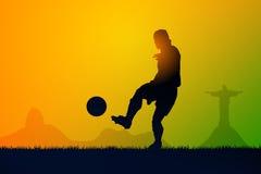 Fútbol del juego ilustración del vector