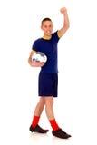 Fútbol del juego, balompié Foto de archivo