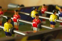 Fútbol del juego de mesa Fotos de archivo libres de regalías