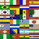 Fútbol del mundo Fotografía de archivo libre de regalías