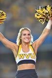 2015 fútbol del NCAA - GA @ WVU meridional Imagen de archivo libre de regalías